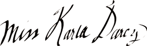 Karla Darcy, Author of the Sweet Deception Regency Romance Series